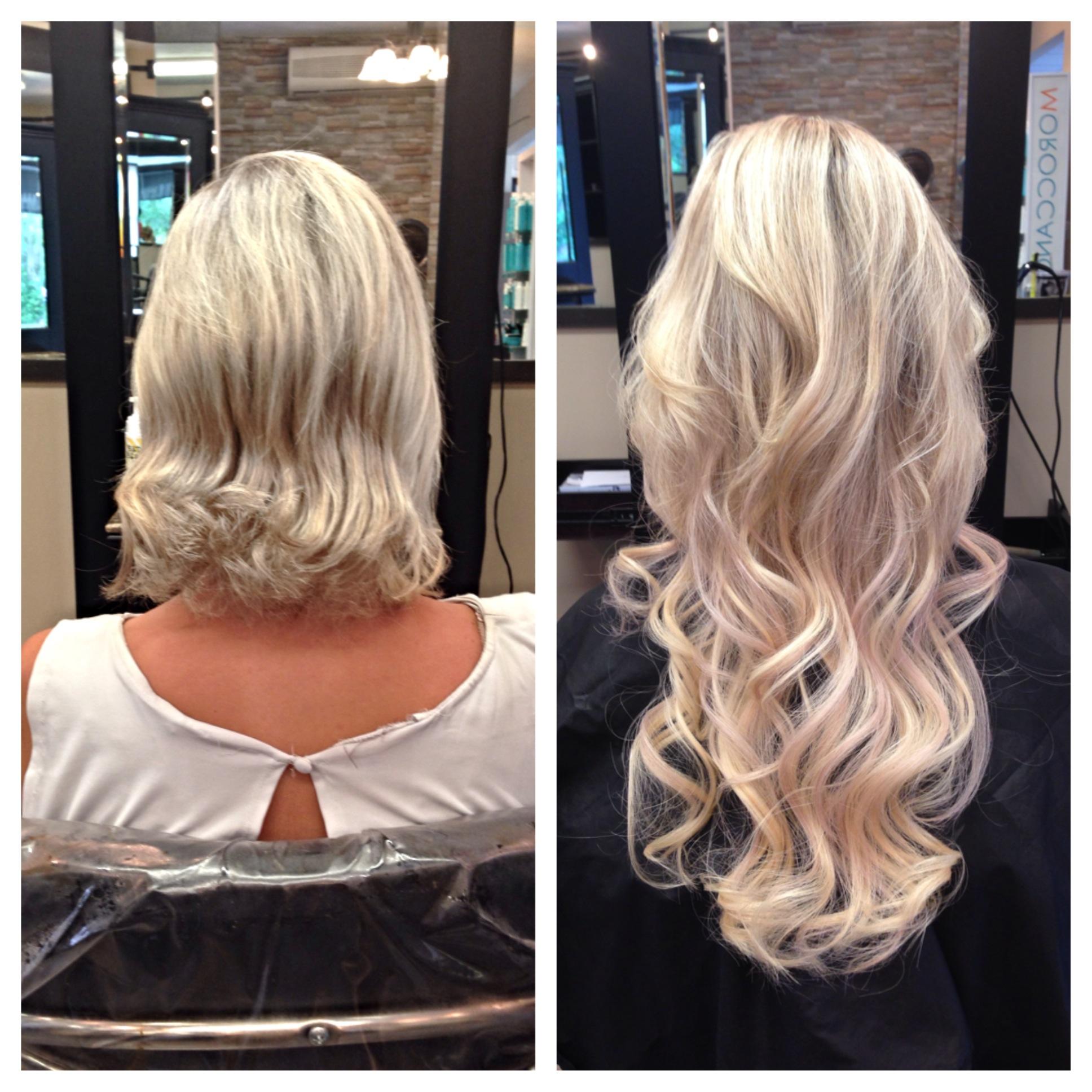 Hair extensions the arthur company salon - Hair salon extensions ...